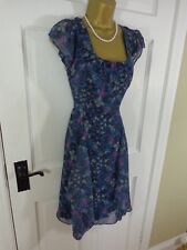 Monsoon Floral Dress UK 10 With Tags
