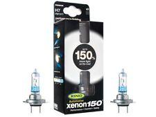 PAIR OF RING XENON 150 H7 55WPERFORMANCE HEADLAMP BULBS RW1577 150%MORE LIGHT!!