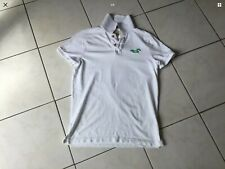 Polo HOLLISTER taille M blanc/vert impeccable