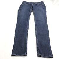 True Religion Women's Jeans 29 Dark Wash Stella Denim Cotton Stretch Skinny Leg