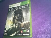 Dishonored (Microsoft Xbox 360) Complete W/Manual Arkane Free shipping