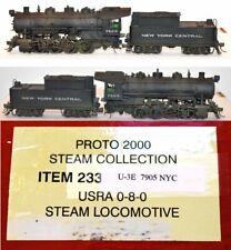 NYC 7905 0-8-0 Steam Proto 2000 DC DCC Sound  LL  HO CP MR5.15