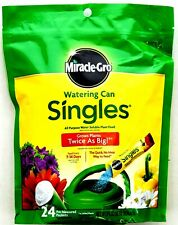 Miracle-Gro Plant Food Watering Can 24 Count Single Use Packets Water Soluble