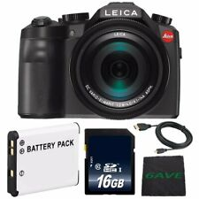 Leica V-LUX (Typ 114) Digital Camera Starter Bundle 26