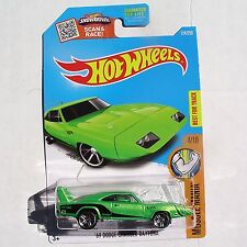 '69 Dodge CHARGER DAYTONA. Green. 2016 HW Muscle Mania. DHR35. New in Package!