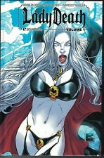 LADY DEATH HC Hardcover Vol 1 $39.99srp Signed 3 times!  Limited to 1000  NEW