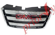 22765590 OEM Front Grille Chrome Black with GMC Red Logo 2010-2015 GMC Terrain