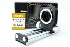 Minolta Auto Bellows I Unit Macro For SR MD w/ Box From Japan [Exc+++++]
