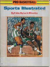 1st OSCAR ROBERTSON Sports Illustrated 1970 MILWAUKEE BUCKS Basketball NO LABEL
