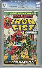 Marvel Premiere - Iron Fist #24 NM CGC 9.4 White