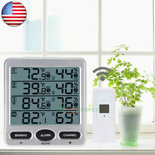 Ambient Wireless Weather WS-10 Indoor Outdoor Thermo-Hygrometer 3 Remote Sensors
