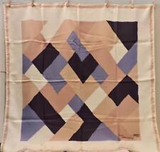 "VTG Liberty of London Sonia Delaunay Scarf 100% Silk 1960s Square 35""x35"""