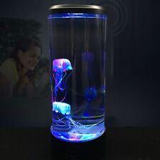 Led Tower Jellyfish Lamp Night Light Change Bedside Lamp Usb Super Power Savingp