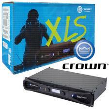 Crown XLS 2002 2-Channel Stereo Power Amplifier DriveCore Class D Amp