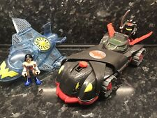 Imaginext Batman Samurai Car And Wonder Woman Plane And Figures