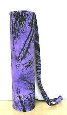 4 PC Ensemble Bleu Yoga Sac Cravate Teinture Coton Gym Tapis Porte Plage Sacs +