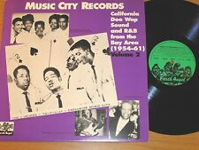 "SWEDEN IMPORT DOO-WOP GROUP LP - VARIOUS -  ""MUSIC CITY RECORDS"" Vol 2"