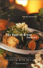 The Best of Greek Cuisine: Cooking With Georgia by Sarianides, Georgia