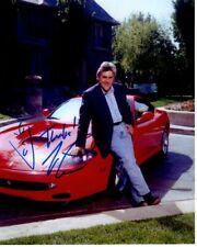 JAY LENO signed autographed FERRARI photo