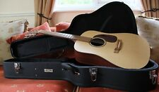 MARTIN  DREADNOUGHT ACOUSTIC GUITAR MADE IN USA WITH FITTED HARDCASE..EXCELLENT.