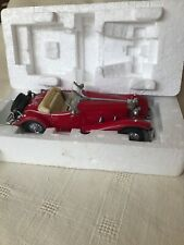 Franklin Mint Mercedes 500 K Special Roadster Boxed 1935