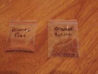 100g OO or N Gauge & Wargames Real Orange Brick Dust/Scatter From Wessex Scenics