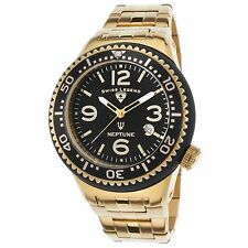 USED Swiss Legend Men's Gold Stainless Steel Quartz Watch 21848P-YG-11-GB