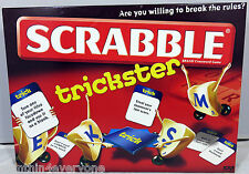 Board Game Scrabble Trickster By Mattel - Complete | EX++