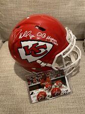 "Dante Hall Signed Kansas City Speed Authentic Helmet - ""OG Human Joystick"""