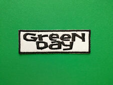 HEAVY METAL PUNK ROCK MUSIC SEW ON / IRON ON PATCH:- GREEN DAY (b) WHITE STRIPE
