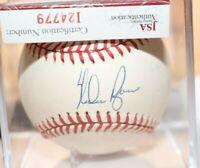 HOF Nolan Ryan Autograph Clean OAL Baseball COA- JSA Mets Angles, Houston, Texas