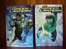 Green Lantern: Rebirth/No Fear - DC - HC w/DJ 2005/2006 1st Printing Geoff Johns