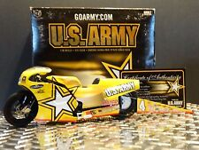 Racing Champions 2003 Antron Brown ARMY Suzuki NHRA 1:9 Pro Stock Drag Bike