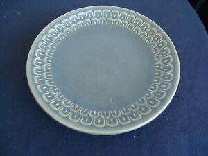 Vintage retro wedgwood pennine cambrian green bread & butter plate