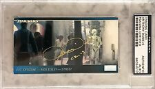1994 Topps Anthony Daniels C2-3 C3-PO Star Wars Signed Trading Card PSA/DNA SLAB