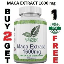 Maca Root Extract High Potency 1600 mg Enhance Sexual Health Made USA