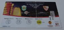 Ticket for collectors EL Karpaty Lviv Sevilla FC 2010 Ukraine Spain