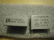 5 Stück 0,22µFX2 SH HMF 300 V~ N MKT 565-1 Kondensator
