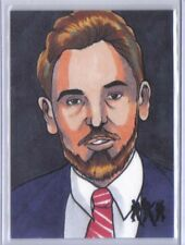 Ghostbusters 2016 Cryptozoic Sketch Art Card Walter Peck by Rich Molinelli 1/1
