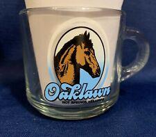 Oaklawn Park Coffee Cup Glass Hot Springs Arkansas Derby