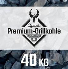 40kg BBQKontor Quebracho blanco Premium Grillkohle Holzkohle Steakhausqualität