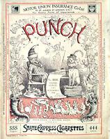 PUNCH or THE LONDON CHARIVARI Weekly Magazine humor satire Sept. 13, 1922 London