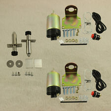 solenoid  shaved door kit 50lb hot rod rat rod complete New with 2 Door poppers