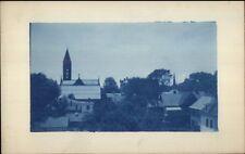 Deerfield MA c1910 Cyanotype Real Photo Postcard #4