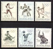 Yugoslavia - 1968 Olympic games Mexico Mi. 1290-95 MNH