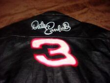 "DALE EARNHARDT  "" # 3  THE INTIMIDATOR "" AIR BRUSH ART "" LEATHER  JACKET"