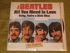 The Beatles Singles 2014 wall calendar NEW SW 45 record sleeve photos