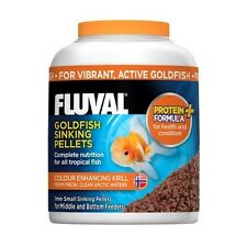 Fluval Goldfish Sinking Pellets Fish Food 1mm 90g