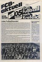 August 1984 FC Bayer 05 Uerdingen - Borussia Mönchengladbach