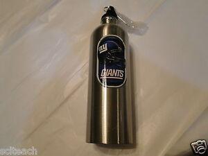 New York Giants NFL 25.5-Oz Stainless Steel Water Bottle,BPA Free,Free Ship